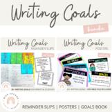Writing Goals {Bundle}