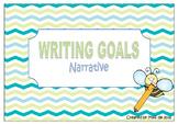 Writing Goals - Narrative