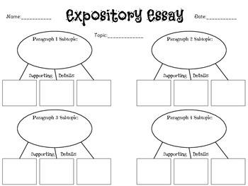 Writing Graphic Organizer Packet
