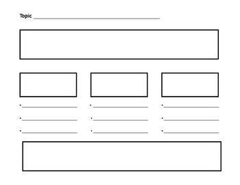 Writing Graphic Organizers