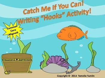 """FREEBIE! Writing """"Hooks"""" Warm-Up Activity"""