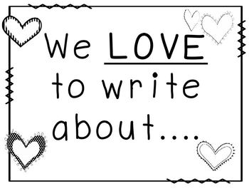 Writing Idea Board