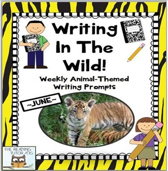 Weekly Writing Prompts for Summer ~Animal Theme~