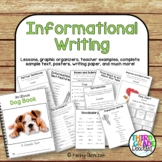 Informational Writing -- Common Core Aligned