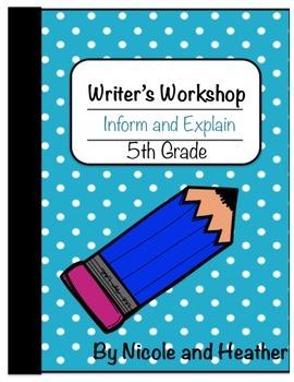 Writing Informative and Explanatory Texts 5th Grade
