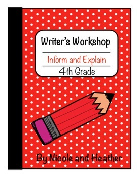 Writing Informative and Explanatory Texts 4th grade