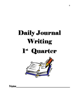 Writing Journal 1
