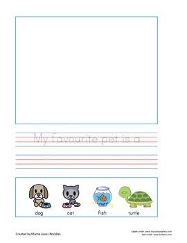 Writing Journal 1: Favourites (British English)