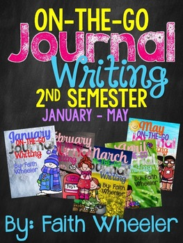 Writing Journal Bundle (2nd Semester)