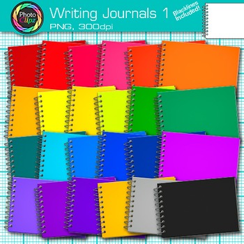 Writing Journal Clip Art 1 - Writing Journal Prompt Use -