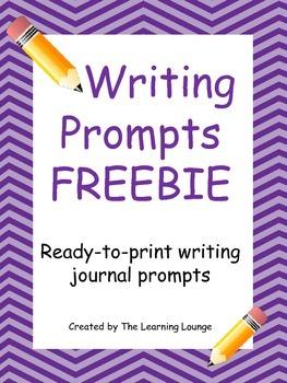 Writing Journal Prompt FREEBIE
