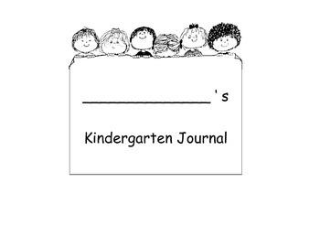 Writing Journal for Grades k-2