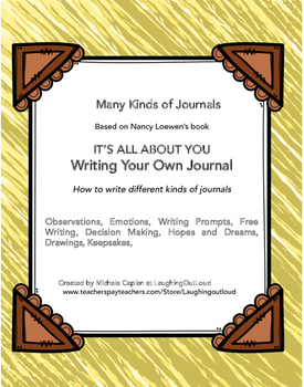Writing Journals - Teach HOW to write different journals