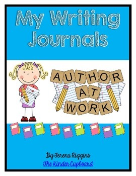 Writing Journals { EDITABLE }