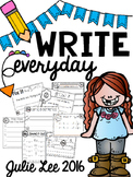 Writing Kindergarten Write Every Day