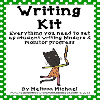 Writing Kit ~ Everything you need 4 writing notebooks & mo