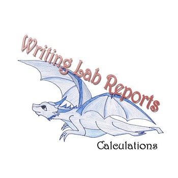 Writing Lab Reports - Calculations