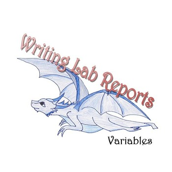 Writing Lab Reports - Variables