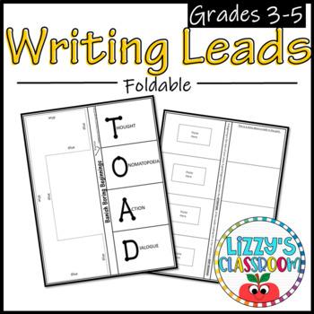 Writing Leads Foldable
