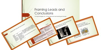 Writing Leads and Conclusions; BUNDLE; printables; Powerpo