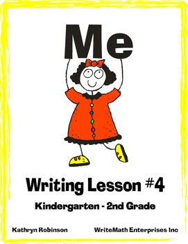 Writing Lesson 4: Writing All About Me! {Full Week of Writ