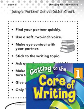 Writing Lesson Level 1--Turn and Talk (eLesson)