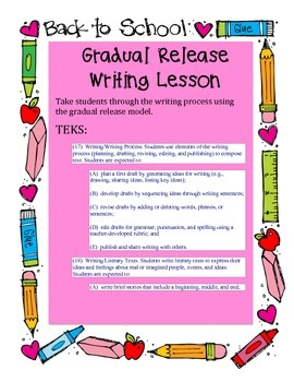 Writing Lesson Plans for 2nd grade (Spanish and English)