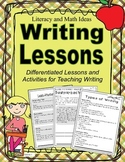 Writing Lessons (Differentiated Lessons)