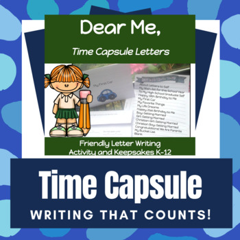 """Friendly Letter Writing: """"Letters From Me"""" Keepsakes"""