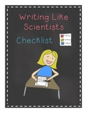 Writing Like Scientists Checklist