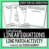 Linear Equations Line Match Activity