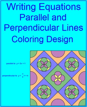 Writing Linear Equations of Parallel and Perp. Lines # 2 C