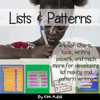 Writer's Workshop: Lists and Patterns by Kim Adsit aligned