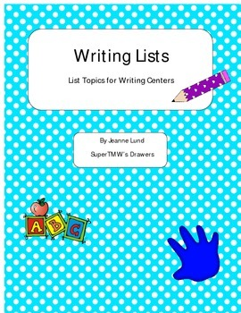 Writing Lists for Centers