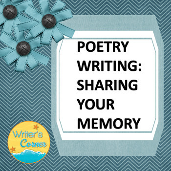 Poetry Writing Memory Poetry, CCSS
