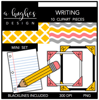 Writing Mini Set {Graphics for Commercial Use}