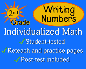 Writing Numbers in Different Forms, 2nd grade - Individual