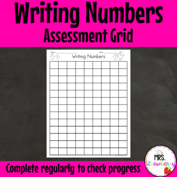 Writing Numbers to 100 and Beyond Assessment