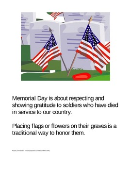 Memorial Day Booklet