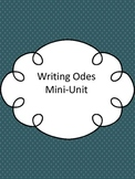 Writing Odes Mini-Unit