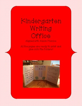 Writing Office (Kindergarten) aligned with Saxon Phonics