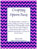 Writing Opinion Pieces - 20 Graphic Organizers (Common Core!)