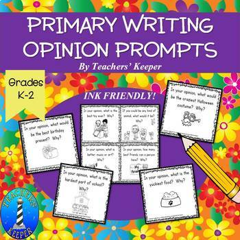 Writing Opinions in the Primary Grades: Ink Friendly