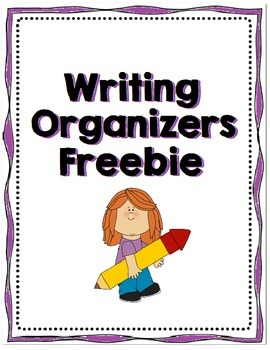 Writing Organizers Freebie