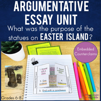 Argument Writing with texts, Cornell notes & INB activities!