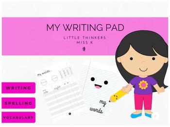Writing Pad