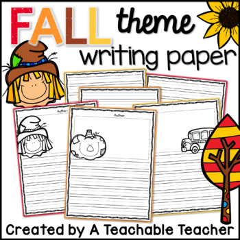 Writing Paper - Fall / Back to School