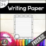 Writing Paper {Freebie}