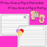 If You Give a Pig a Pancake or a Party by LAURA NUMEROFF W