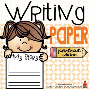 Writing Paper Portrait Edition
